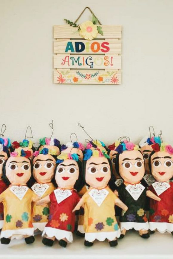 Frida Kahlo doll party favors
