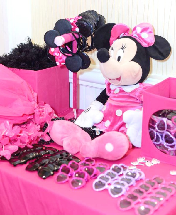 Minnie Mouse Photobooth props