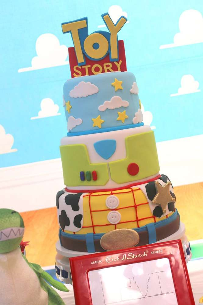 Terrific These 12 Best Toy Story Party Ideas Are Unbelievable Catch My Party Personalised Birthday Cards Rectzonderlifede