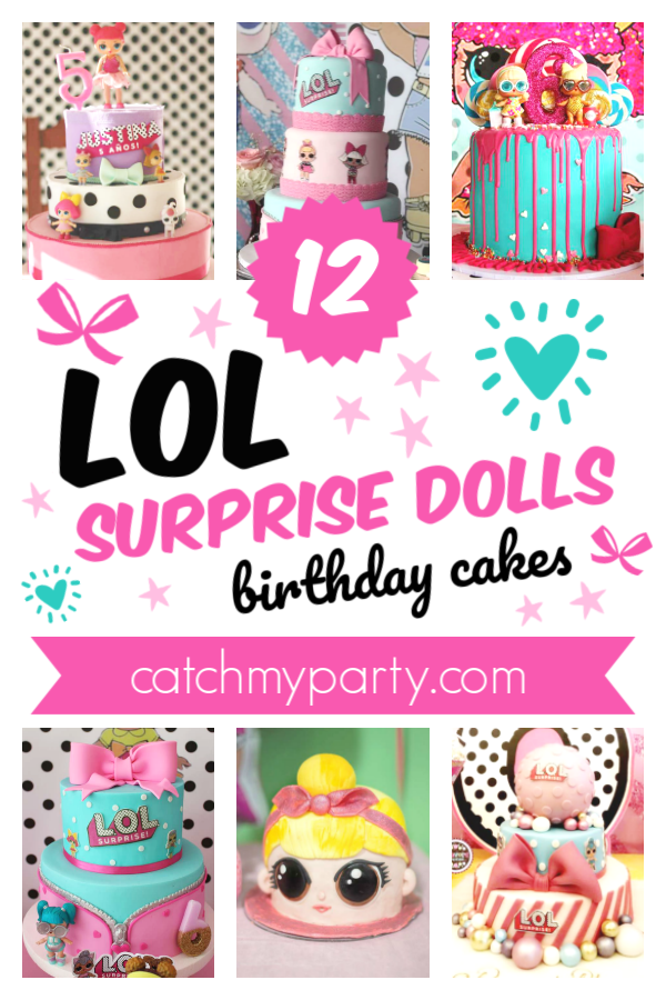 Are You Looking for the Best LOL Surprise Dolls Cake?!