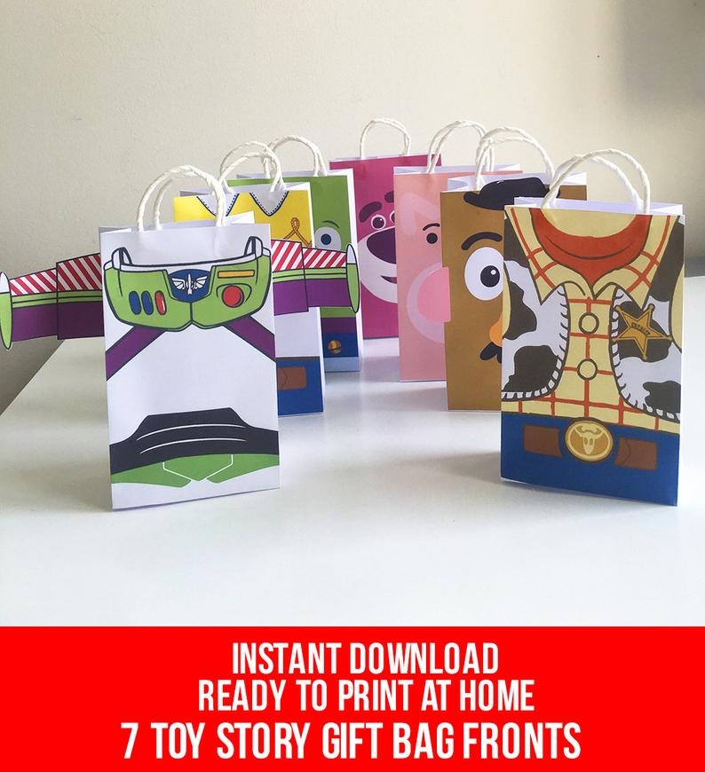 Mix of Toy Story Party Favor Bags