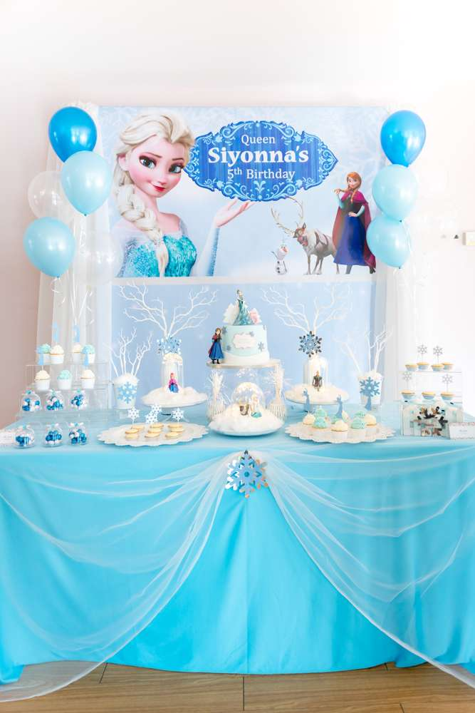 You Must-See These 15 Stunning Frozen Dessert Table Ideas ...