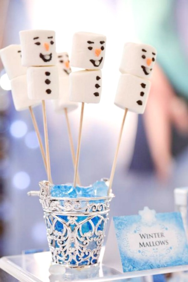 Snowmen Marshmallows