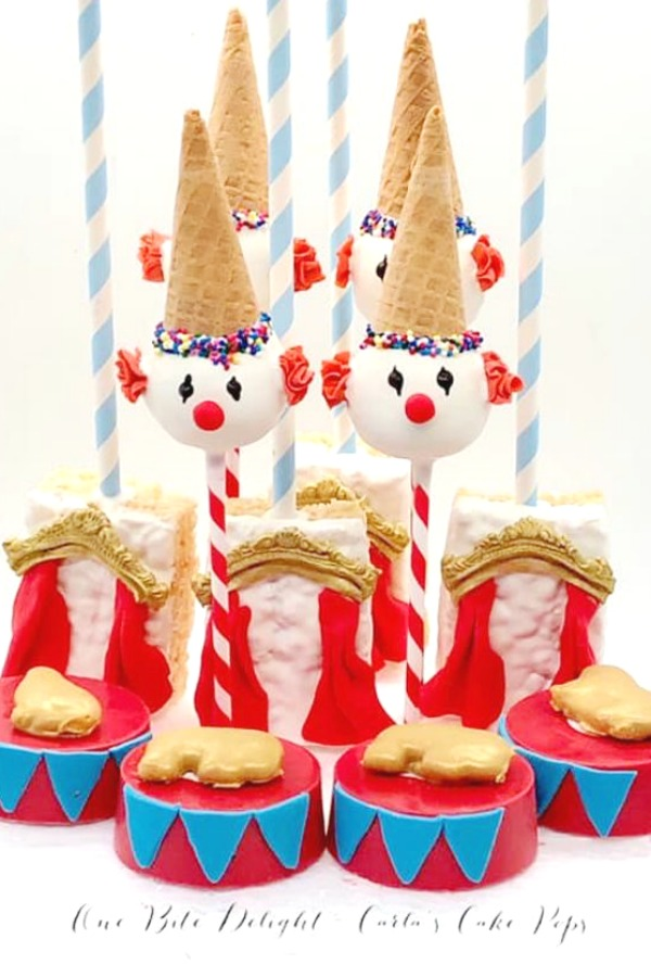 Clown Cake Pops
