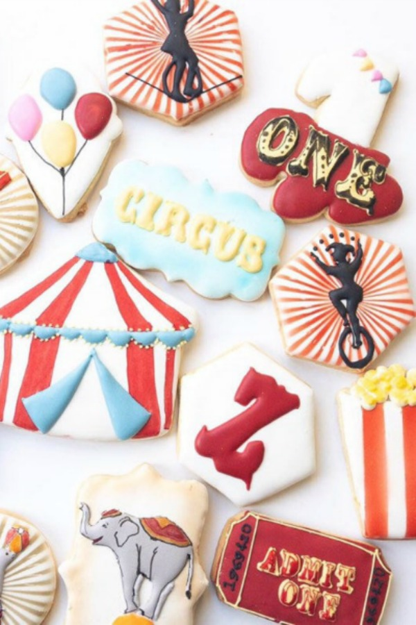 Mix of magical Carnival Cookies
