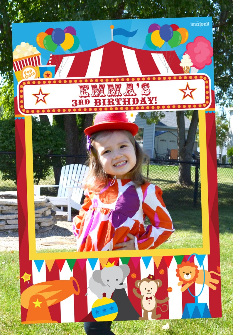 Carnival Photo Booth Frame