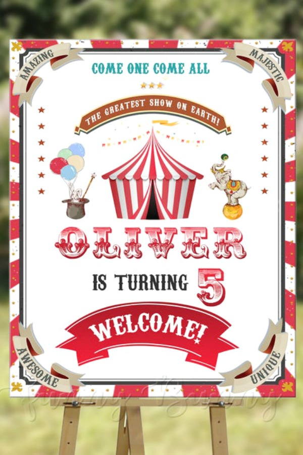 Carnival Welcome Poster
