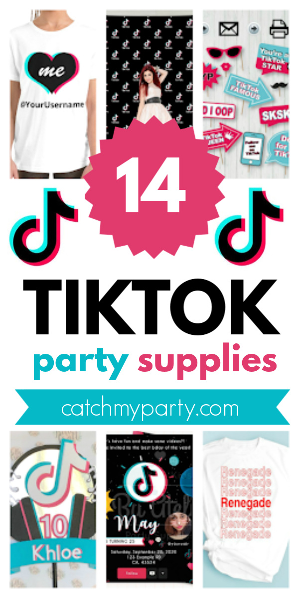 Collage of the 14 Best TikTok Party Supplies!