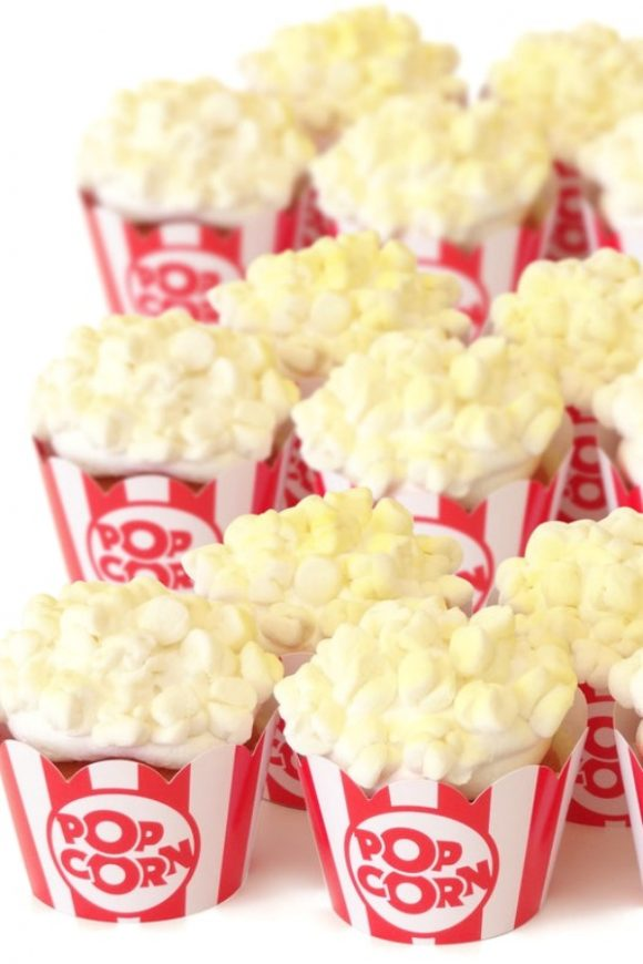 Popcorn Cupcake Wrappers