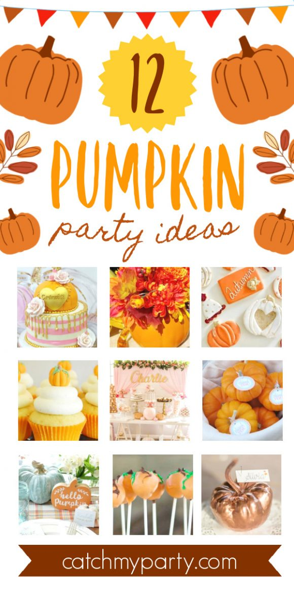 Take a look at these amazing Pumpkin Party Ideas!