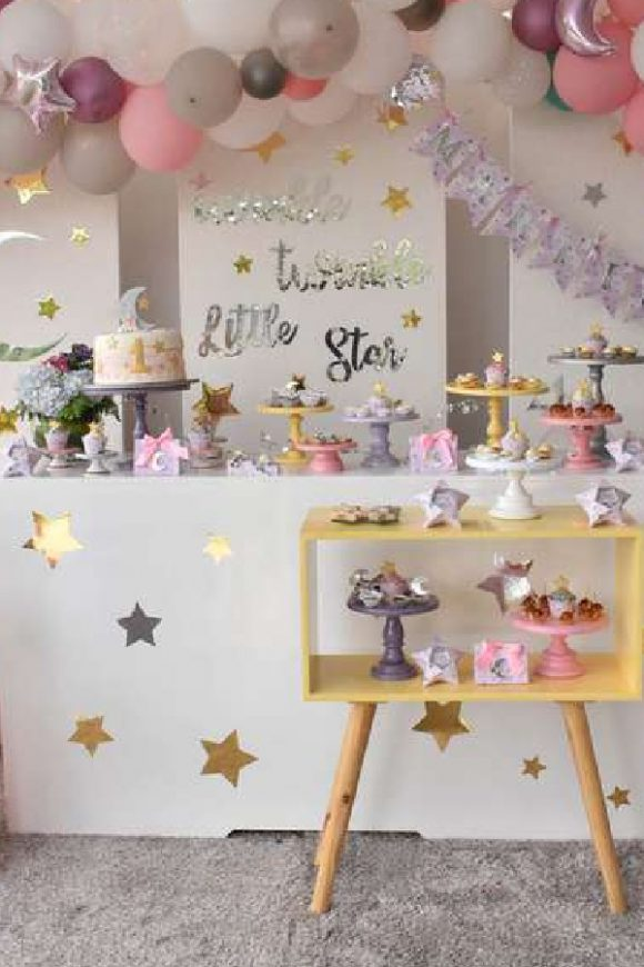 Twinkle Twinkle Little Star 1st birthday party