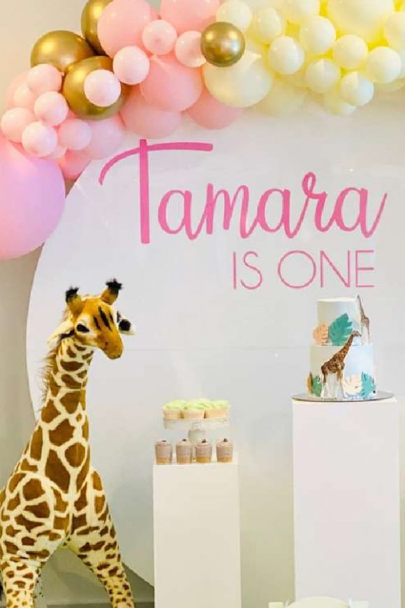 Safari 1st birthday party