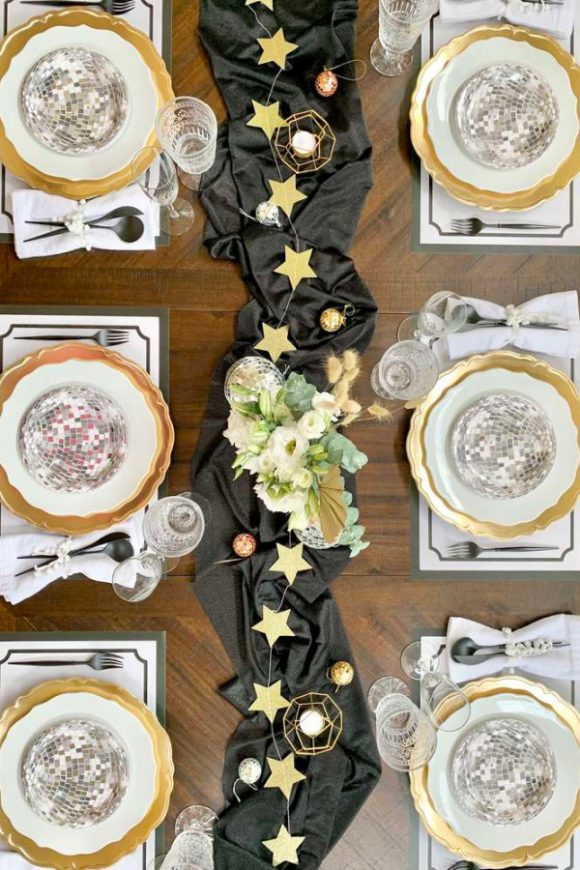 New Years Eve Table Settings