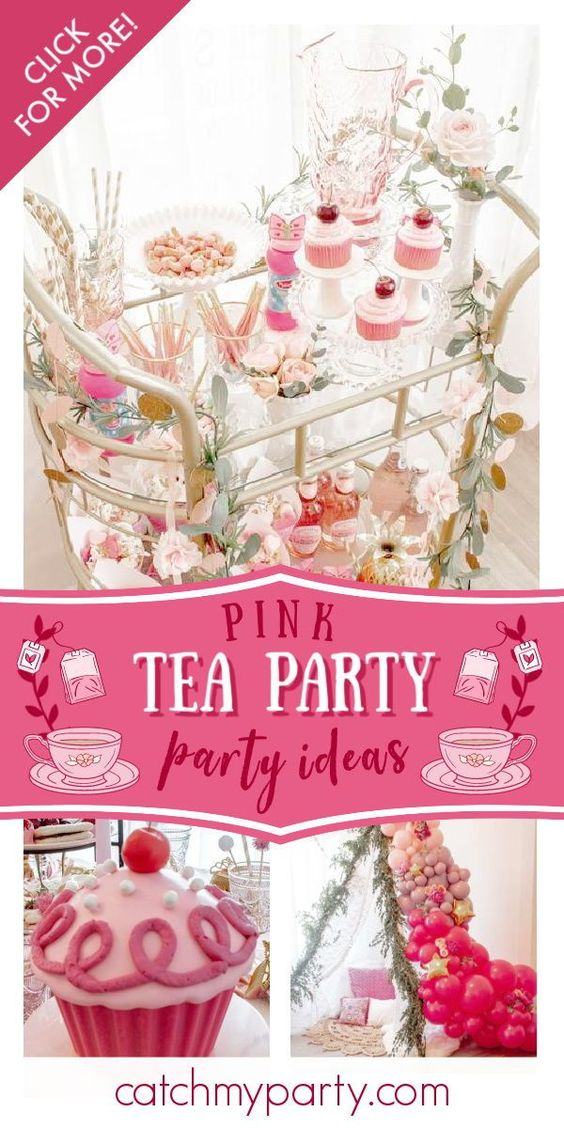 Tea Party birthday party