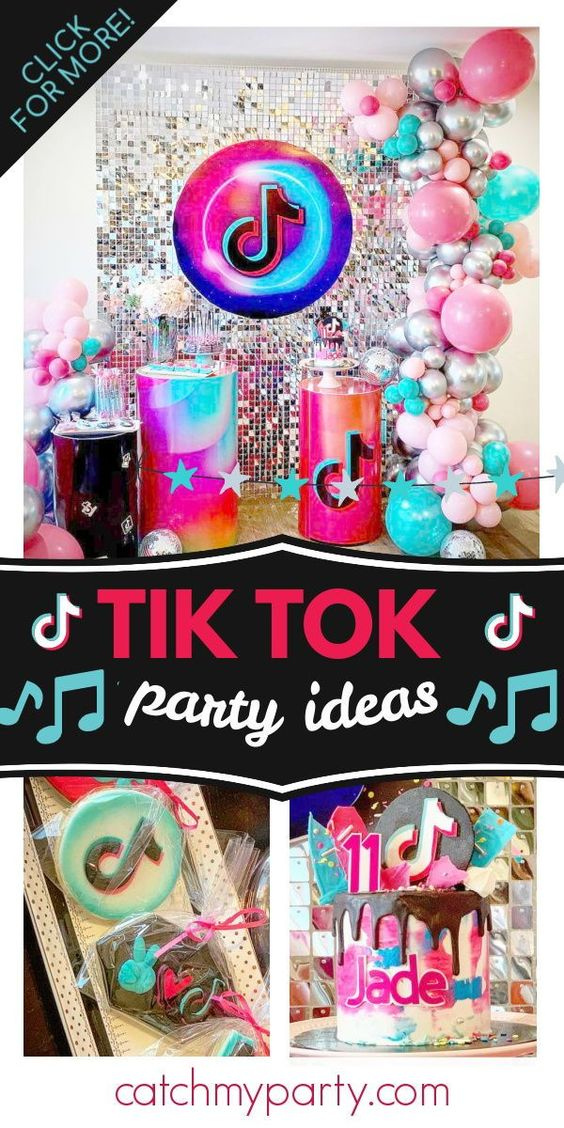TikTok birthday party
