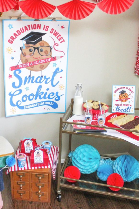 'Smart Cookie's' Party Printables