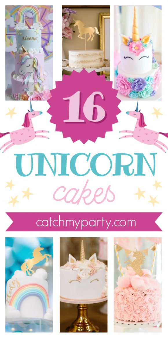 Take a Look at These 16 Magical Unicorn Cakes!
