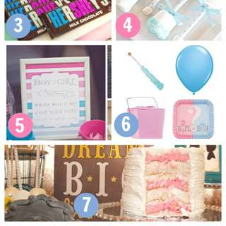 7 Must Have Ideas For Your Gender Reveal Baby Shower