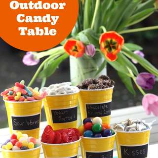 Outdoor-candy-table