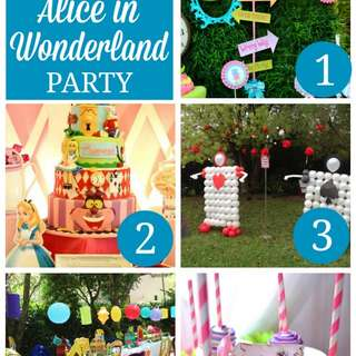 7 Must Haves For An Alice In Wonderland Party