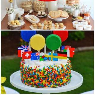 My-favorite-parties-this-week-are-a-rainbow-unicorn-party-a-military-party-a-bumblebee-shower-and-an-olympics-party-1-580x1578