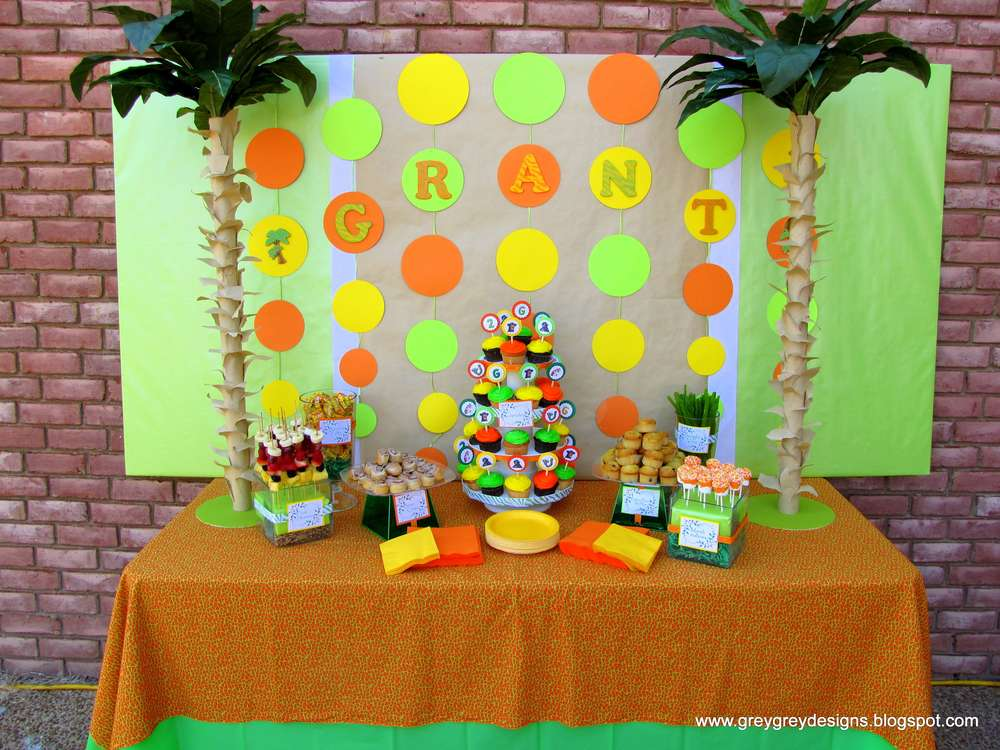 Birthday party ideas photo 1 of 20 catch my party for 2nd birthday decoration