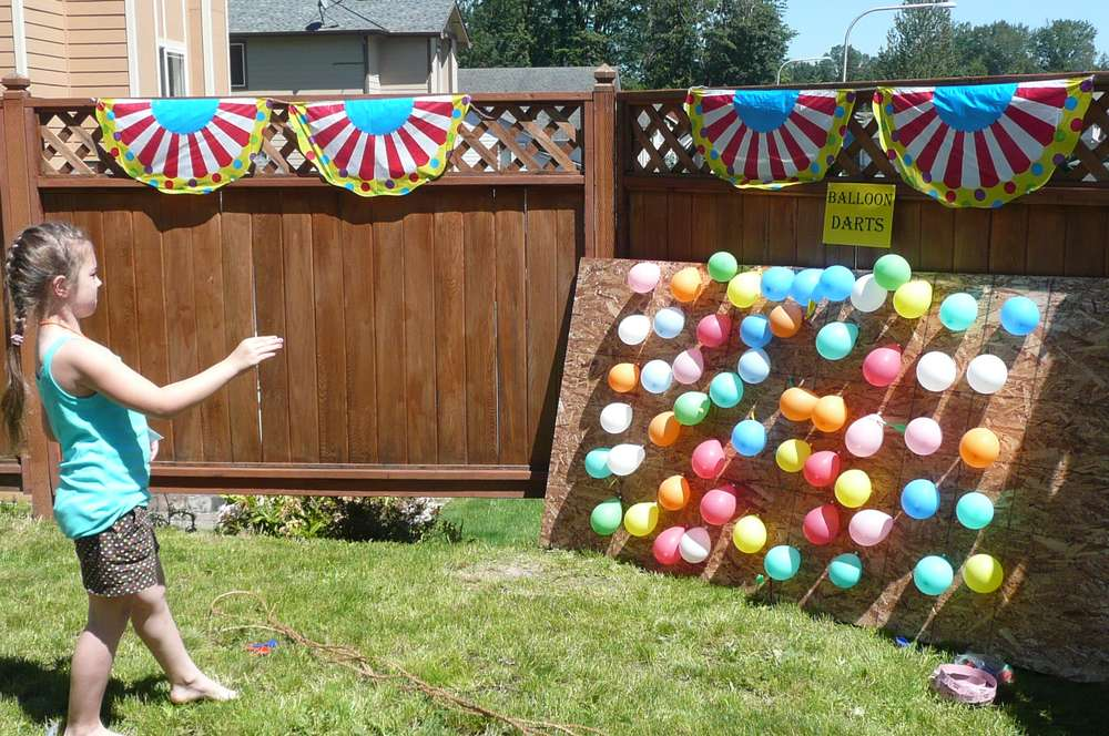 Backyard Birthday Party Ideas For Kids Backyard Carnival Party