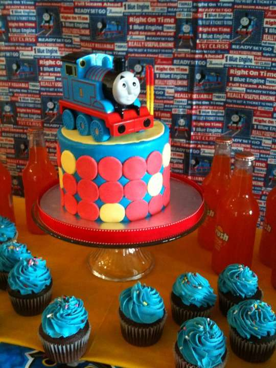 Terrific Thomas The Train Birthday Party Ideas Photo 4 Of 5 Catch My Party Birthday Cards Printable Opercafe Filternl