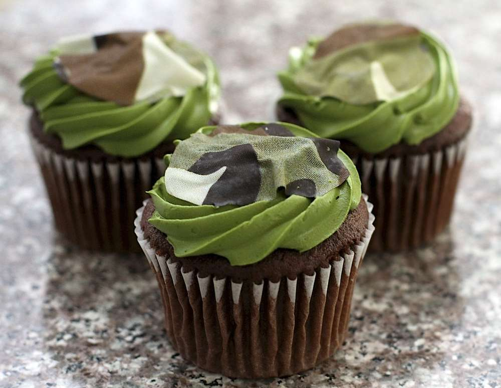 Army Camouflage Birthday Party Ideas Photo 1 Of 15