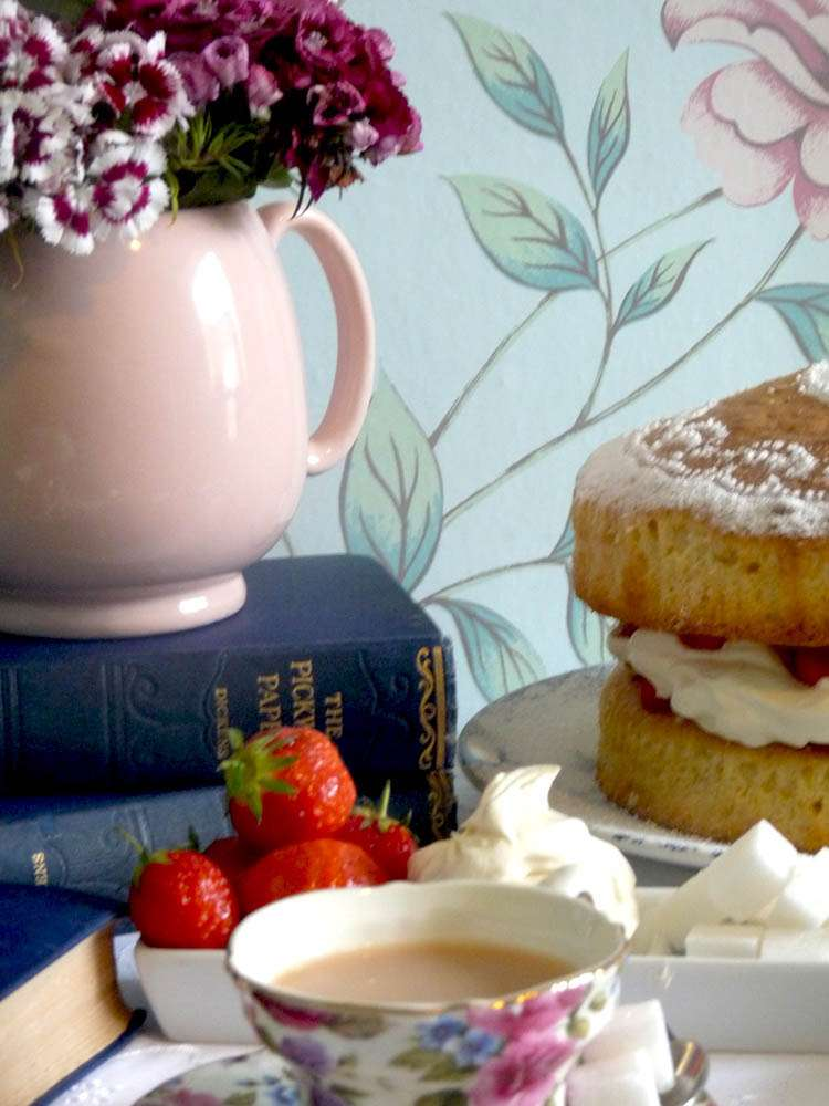 English Vintage Afternoon Tea Mother S Day Party Ideas
