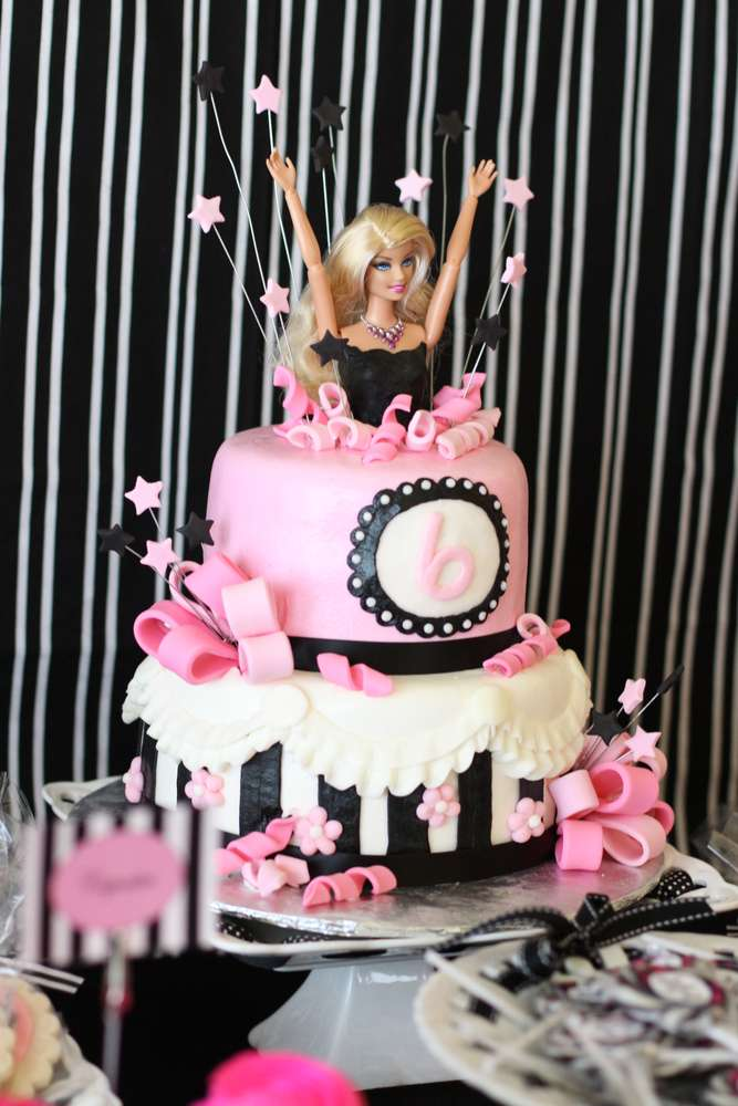 Barbie Glam Birthday Party Ideas  Photo 12 of 23  Catch My Party