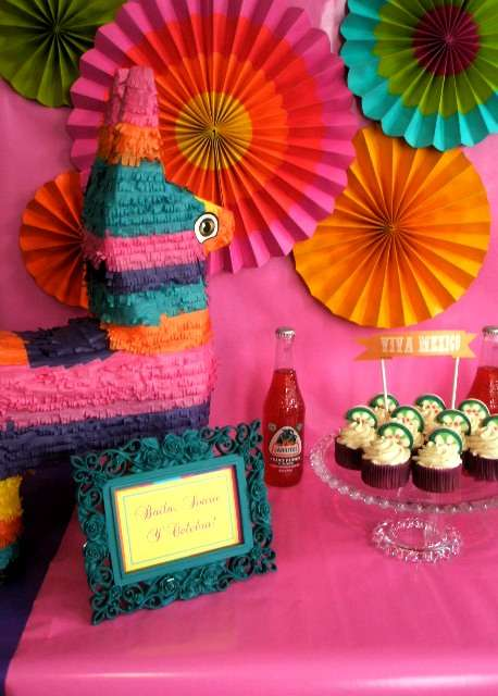 Mexican themed birthday party for adults