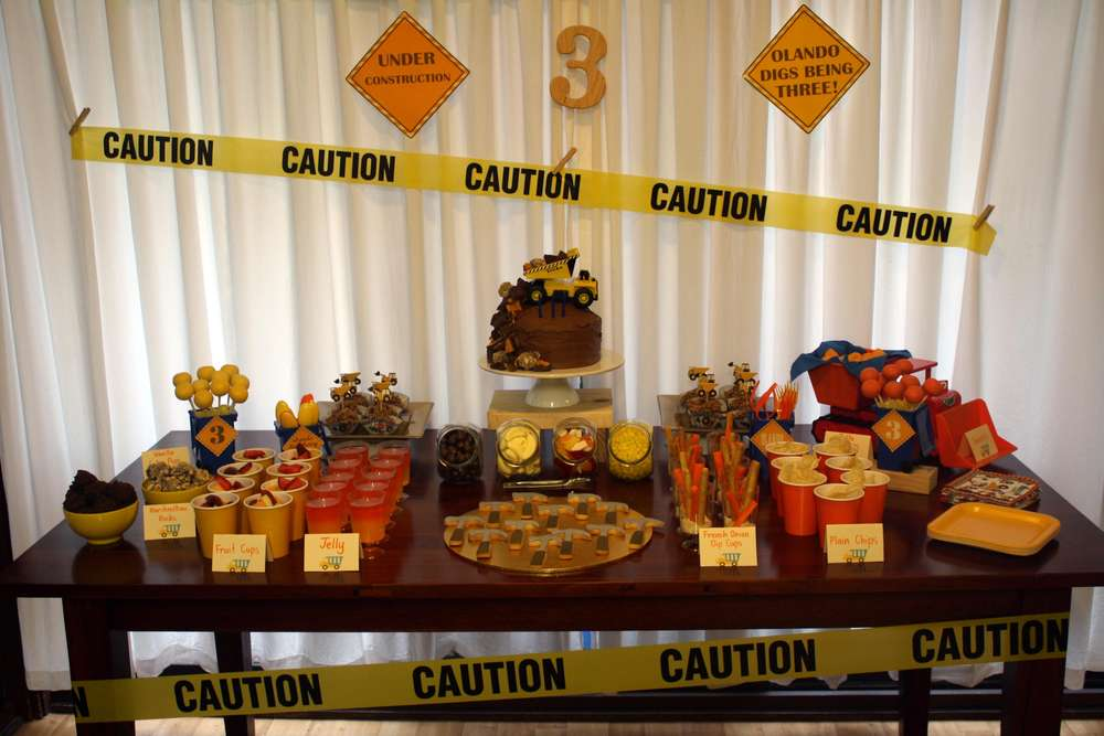 Engineering Party Ideas : Construction birthday party ideas photo of catch