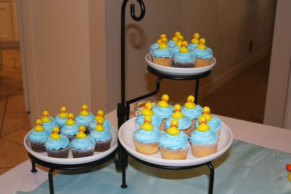 Rubber Ducks Baby Shower Party Ideas | Photo 11 of 22 | Catch My Party