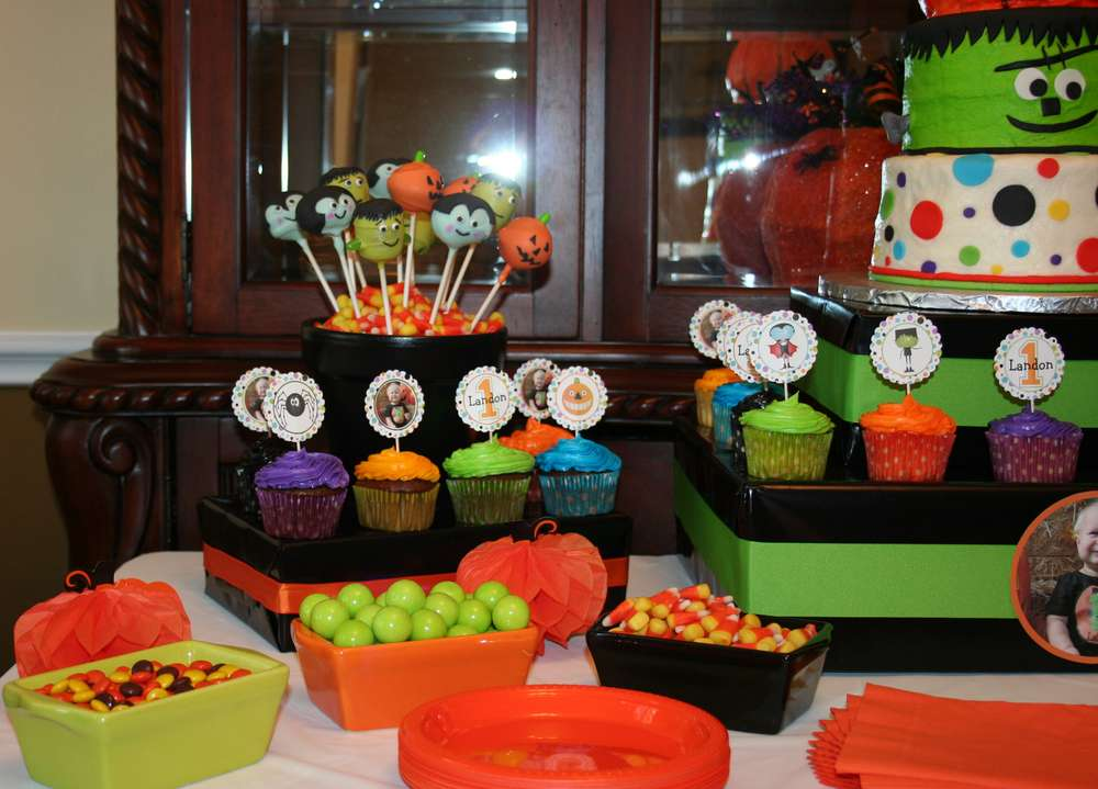 Halloween Birthday Party Kids Easiest Little Pumpkin Is Turning One