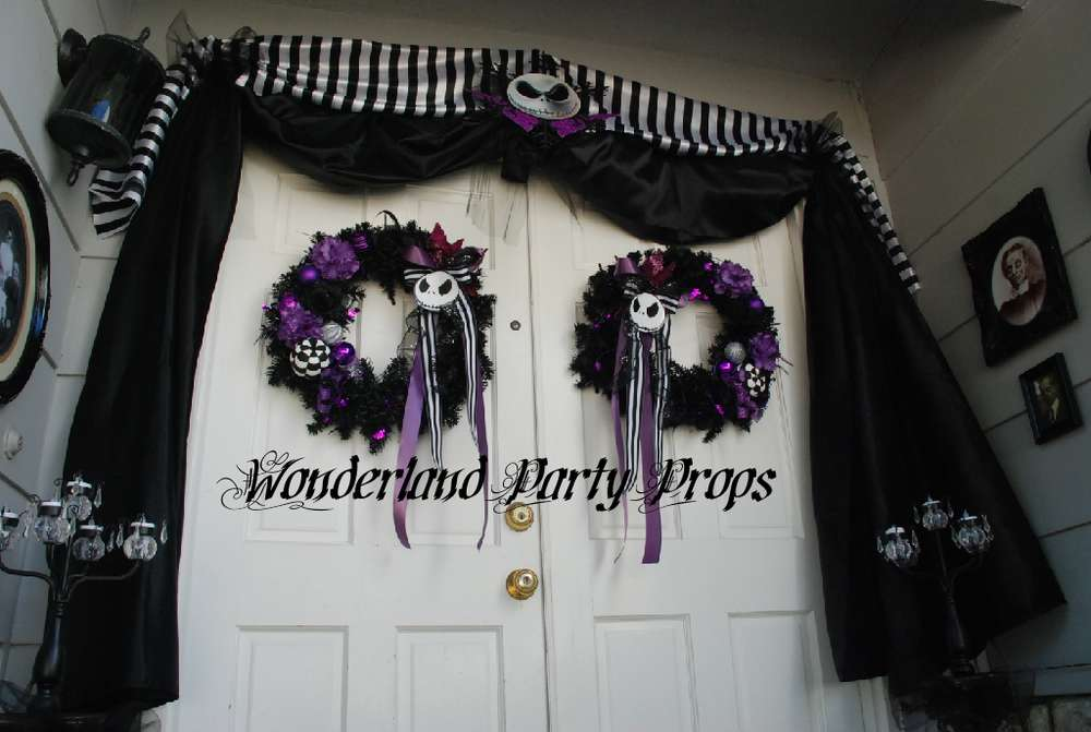 halloween door entrance