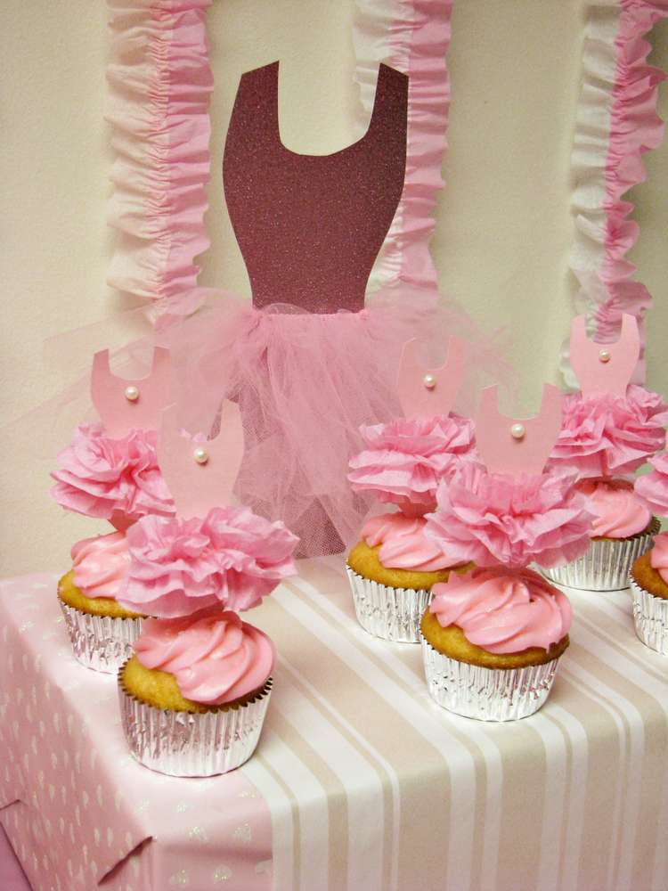 ballerina baby shower party ideas photo 4 of 26 catch my party