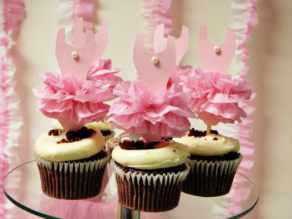 Ballerina Baby Shower Party Ideas Photo 11 Of 26 Catch My Party