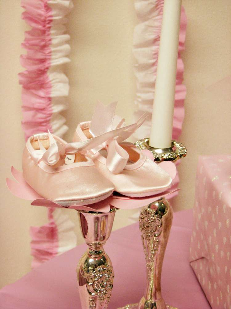 ballerina baby shower party ideas photo 1 of 26 catch my party