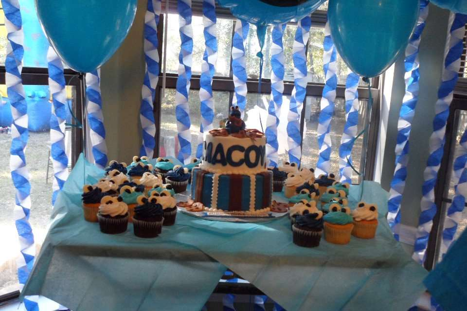 Cookie Monster 1st Birthday Party Ideas Photo 10 of 11 Catch My