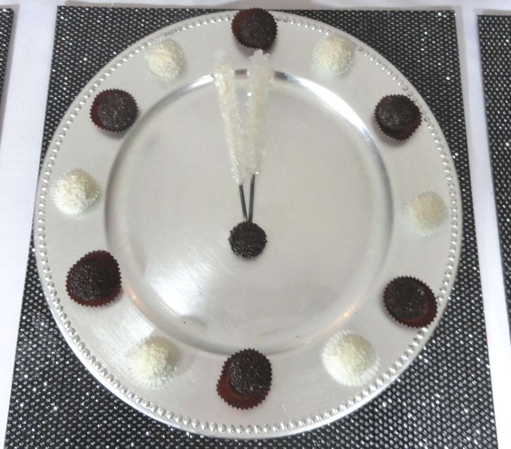 black white and silver New Year\'s Party Ideas | Photo 1 of 27 ...