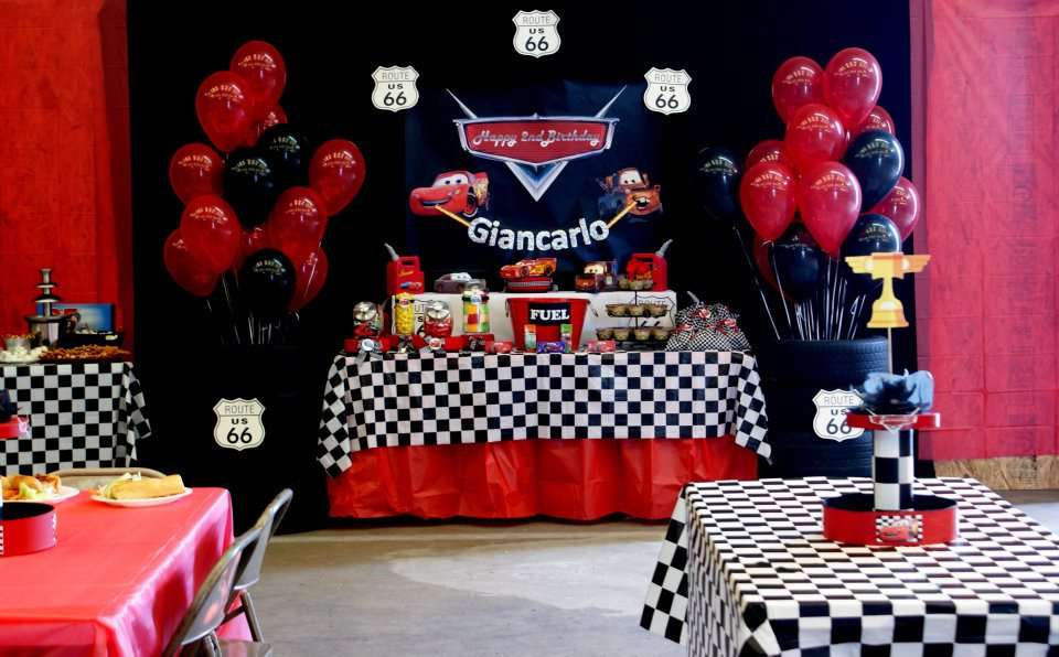 Cars 2 Birthday Party Ideas Photo 1 Of 11 Catch My Party