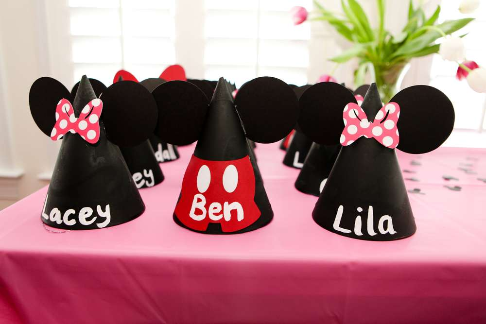 Mickey Minnie Mouse Party Birthday Ideas
