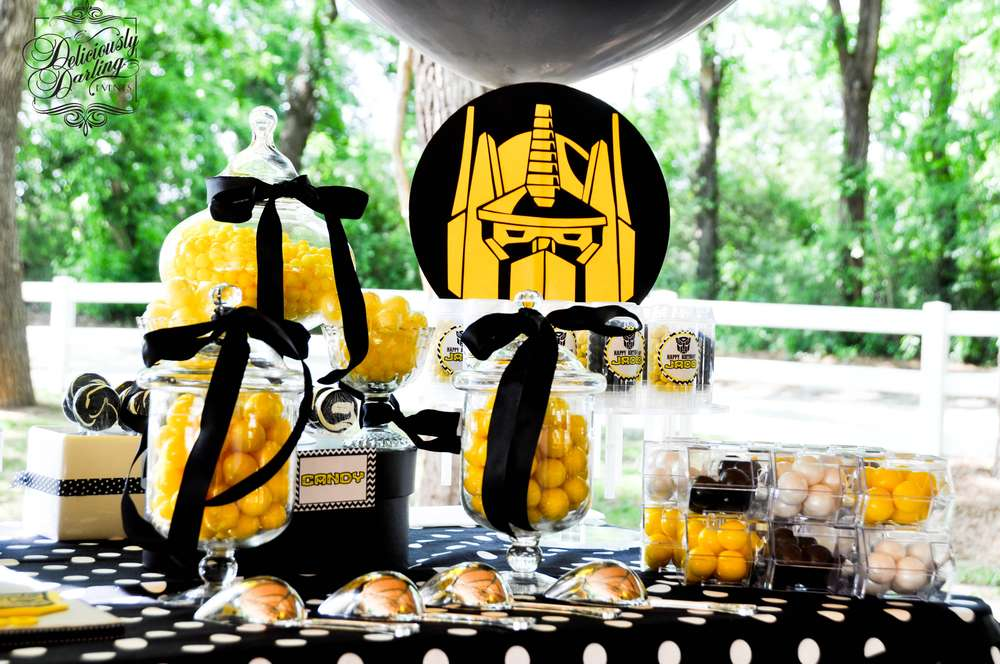 Transformers Birthday Party Ideas Photo 3 Of 11 Catch
