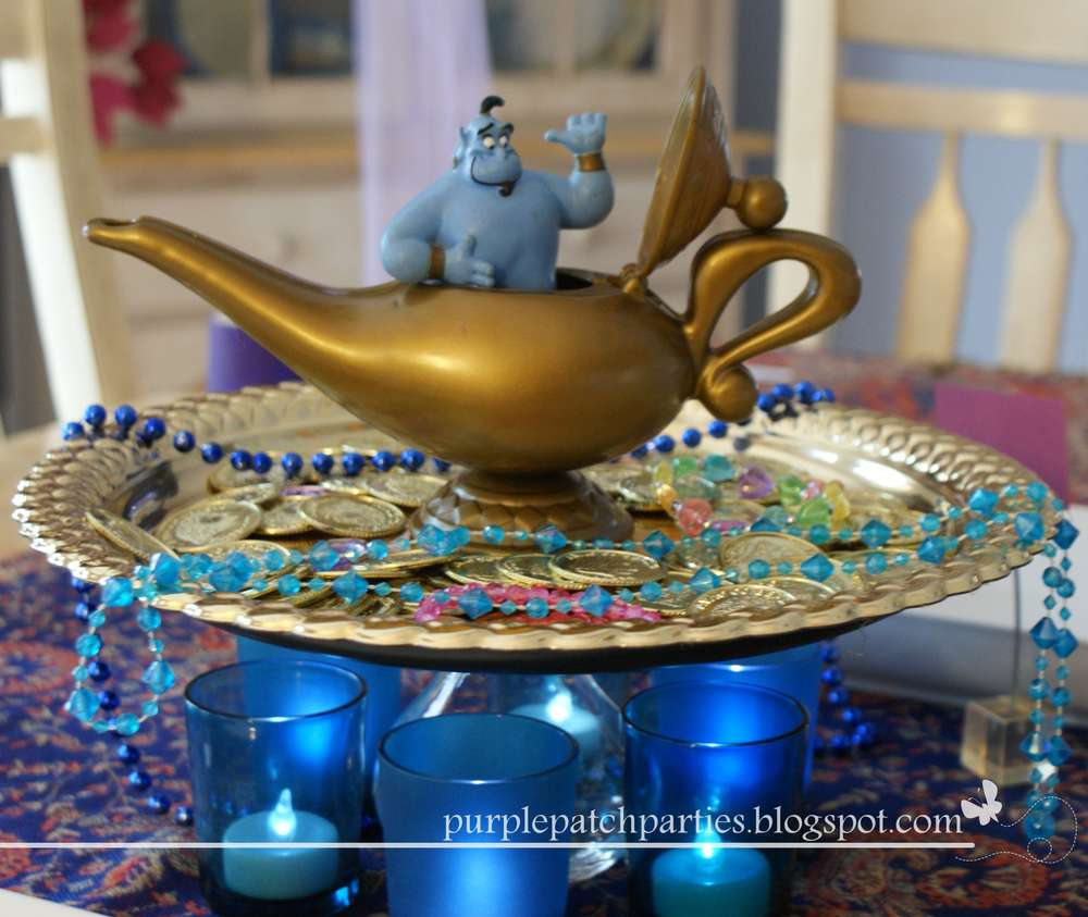 Arabian nights jasmine and aladdin movie night party ideas for Arabian nights decoration ideas