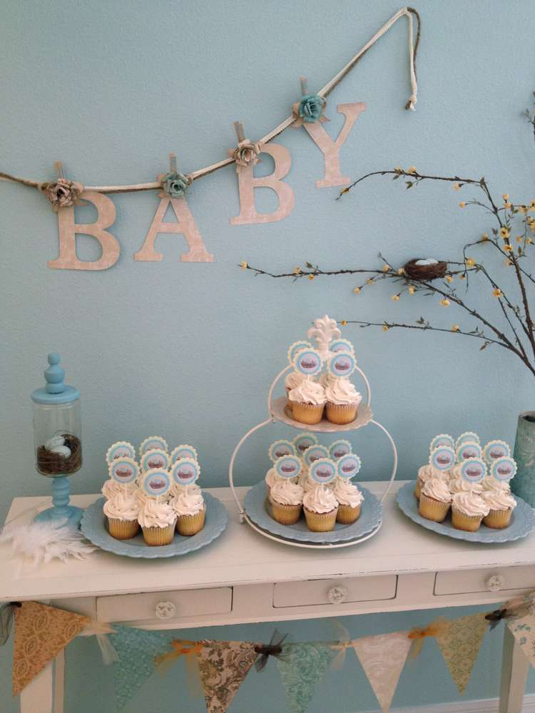 Birds Nest Baby Shower Party Ideas Photo 1 Of 11 Catch