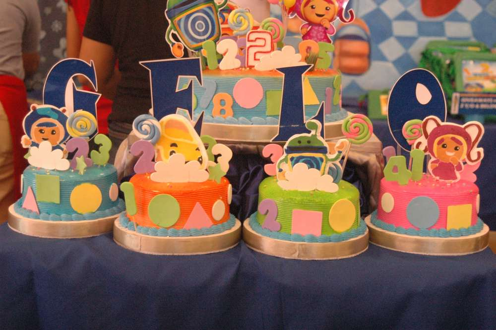 Gelos Umizoomi 2nd Birthday Party