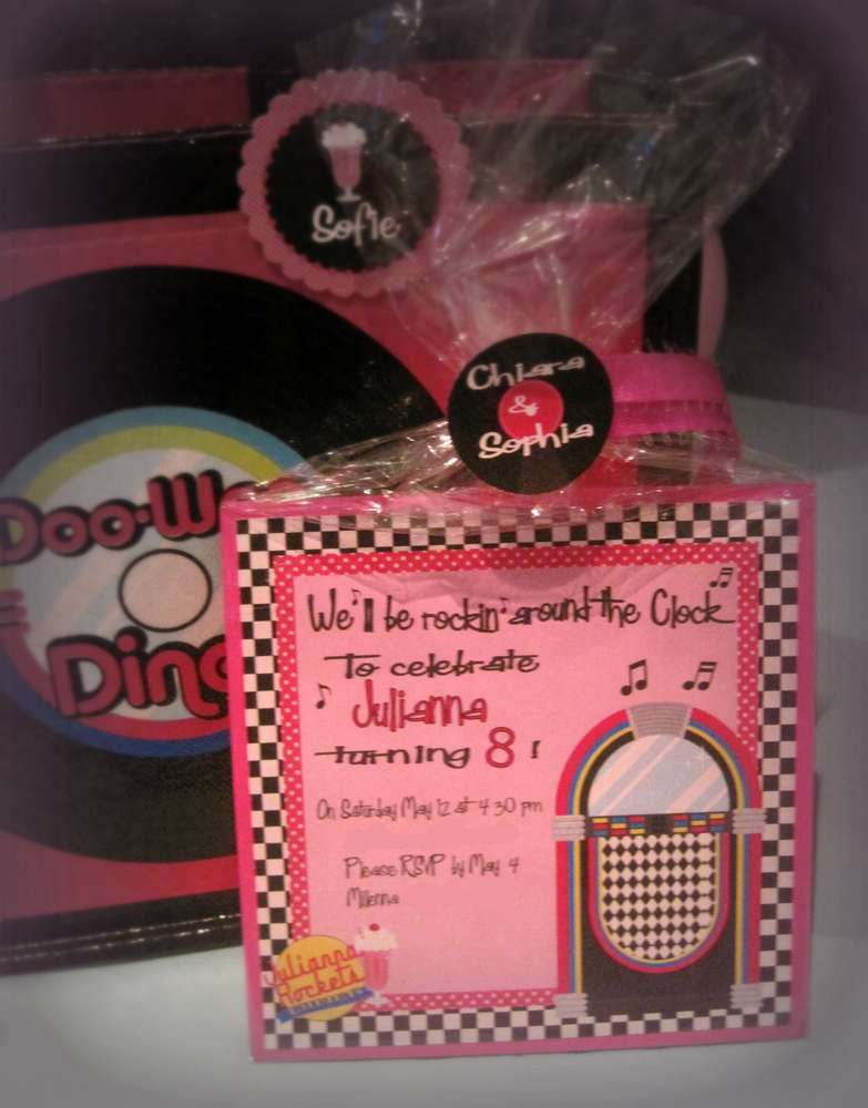 Sock Hop 50\'S Theme diner Birthday Party Ideas | Photo 4 of 21 ...