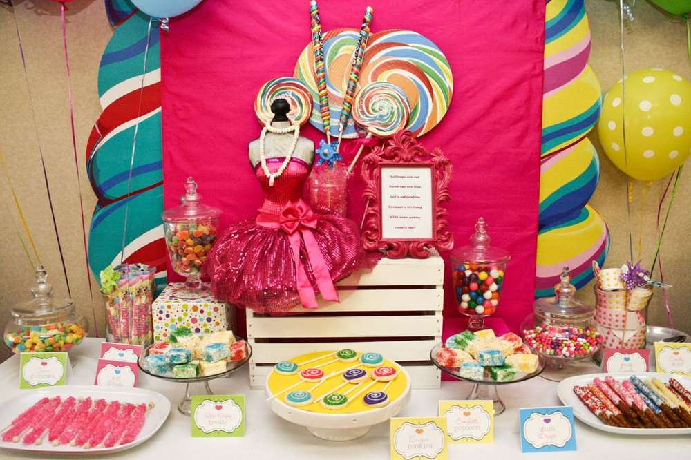 candy candyland candy land birthday party ideas photo 2 of 13 rh catchmyparty com candyland party candy buffet candyland candy buffet ideas