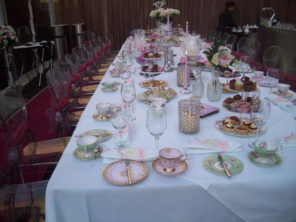 My fair lady vintage tea party Birthday Party Ideas Photo 1 of 8